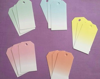 Tags ombre (5 colors)