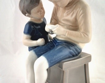 Tom and Willy, Bing and Grondahl figurine, 1950's