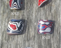 Genuine Fordite Cabochon ~ 3 left to choose from ~  early 1980's Ford River Rouge Plant paint ~ Detroit Agate ~ Michigan ~ Rainbowologist ~