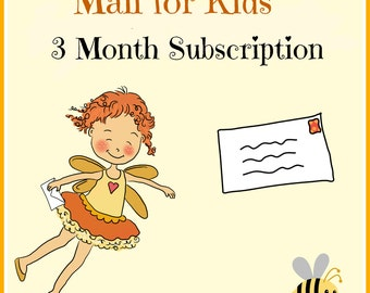 Mail for Kids - 3 month subscription