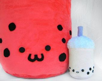 Giant Bubble Tea Plush - Larger than life cuteness!