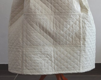 Quilted cotton underskirt