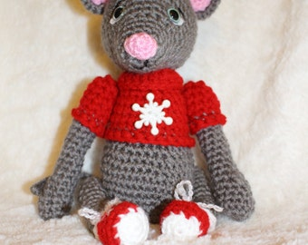 Merry The Christmas Mouse