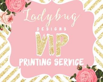 VIP 4 by 5.5 Printing Serivce