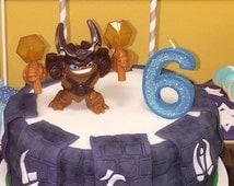 Sklanders Birthday Cake Topper, Skylander Party Cake Banner, Skylander Theme, Skylanders Decorations, Digital, Printable