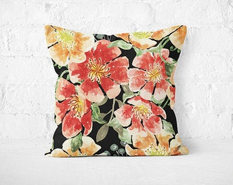 Decorative Flower Pillow Accent Pillow Case Designer Throw Pillow Cushion Cover Luxury Cushion PillowCase Pillow Couch Flower Pillow Cover