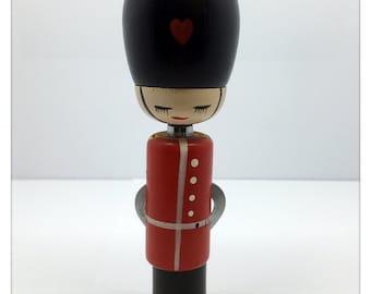 Wood British Royal Guard Bottle Opener