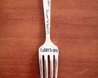 Pie Fixes Everything, Souvenir Fork Magnet