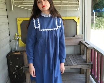 Periwinkle Babydoll Dress