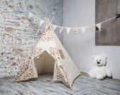 FREE SHIPPING! Children's Teepee Playtent