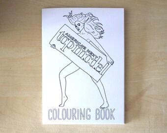 America's Next Top Model Colouring Book
