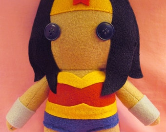 Wonder Woman DC Fleece Plush Doll