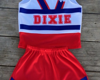 Cheer Outfit - Team Name/Initials