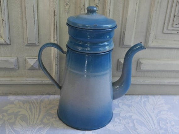 Coffee Pot Biggin Filter French Vintage By