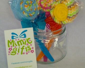 Baby Lollipops. UK. Washcloth gift