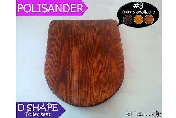 d shaped wooden toilet seat. Wooden Toilet Seat D SHAPE Palisander Wood By PinocchioUK Shaped  Home Decor Mrsilva Us