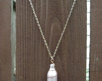 Class of 2016: Silver charger with copper wire wrap