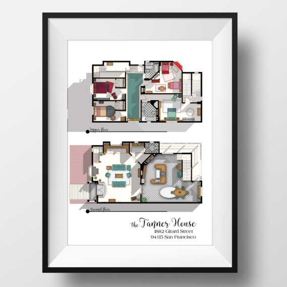 full house tv show floor plan fuller house tv show layout famous television show home floor plans hiconsumption