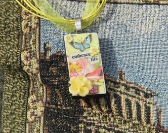 Butterfly Embrace Necklace OOAK