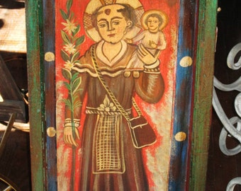 Mexican Box Retablo - Saint/Santo