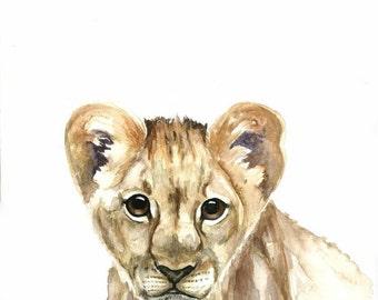 Baby Lion - Print