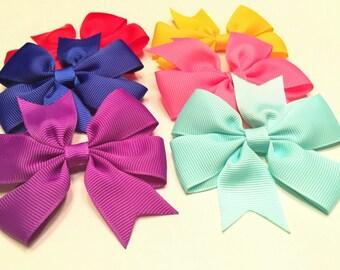Hair Bows Set, Baby Girl Bows, Hair Bows, Hair Clips For Girls, Hair Clips Baby, Toddler Hair Bows, Baby Bow Set, Baby Gift, Baby Ribbons