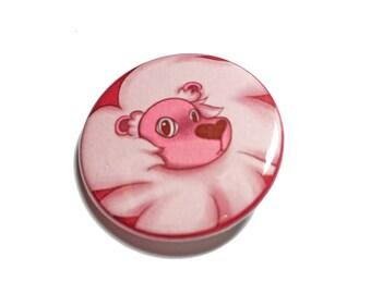 "Steven Universe Lion button, 1.25"" button, 1.25"" badge, pinback button, pin, geek gift"