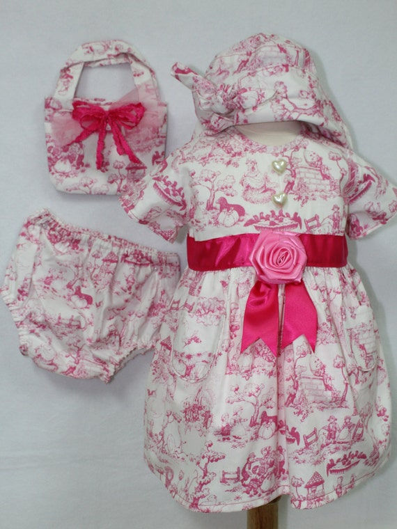9c9820c8e DollyWollySewing - Baby girl Pink dress,Toddler Pink Sundress ...