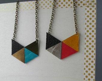 """Mosaic"" small collar model"