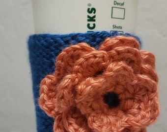 Keep Kool Knitted Coffee Cup Sleeve