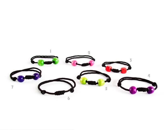 Climbing Rope Bracelet. Rock Climbing Jewelry. Black Paracord Bracelet