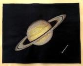 Saturn Cross Stitch Pattern Instant Download PDF