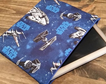 Star Wars Themed Tablet and iPad Case, Zippered Tablet Case, iPad Case, Padded Tablet and iPad Case, Star Wars Licenced Material, NerdNeeds