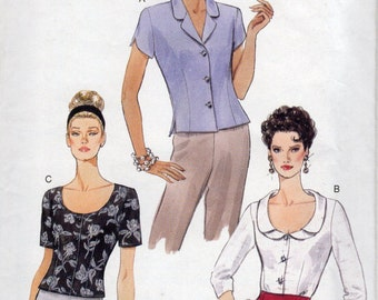 Vogue Pattern 9430 Very Easy Vogue Patterns Misses' Top