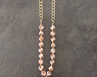 Double Ended Cresent Horn Necklace