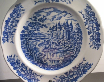 French decorative plate.