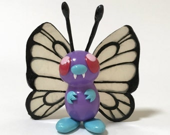 Collectable Polymer Clay Pokemon Figurine, Butterfree