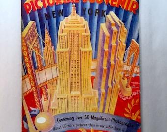 1954 Pictorial Souvenir New York Booklet