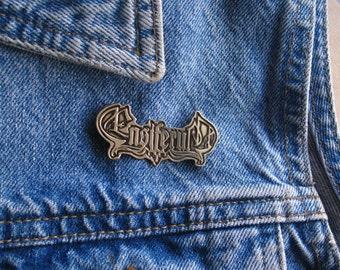 Ensiferum Brass Pin, Amon Amarth Drukdh Manegarm Eluvetie RARE!!!