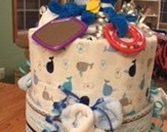 Sweet Baby Cakes-Not your average Diaper Cake
