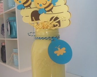 Baby To Bee Shower Decor Bumble Centerpiece Theme