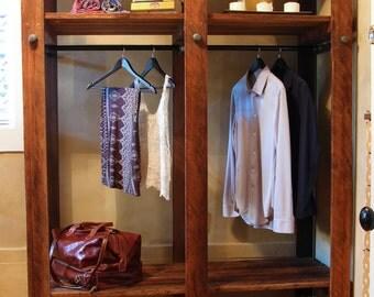 Reclaimed Redwood Wardrobe