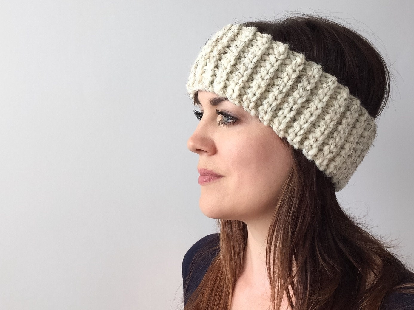 Crochet pattern linden headband chunky crochet headband pattern this is a digital file bankloansurffo Image collections