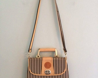 Striped Knockoff Fendi Bag