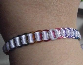 Rainbow Snap-on Bracelet