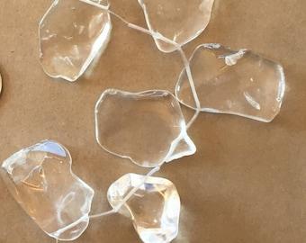 Rock Crystal Freeform Slabs   (Item # 5076)