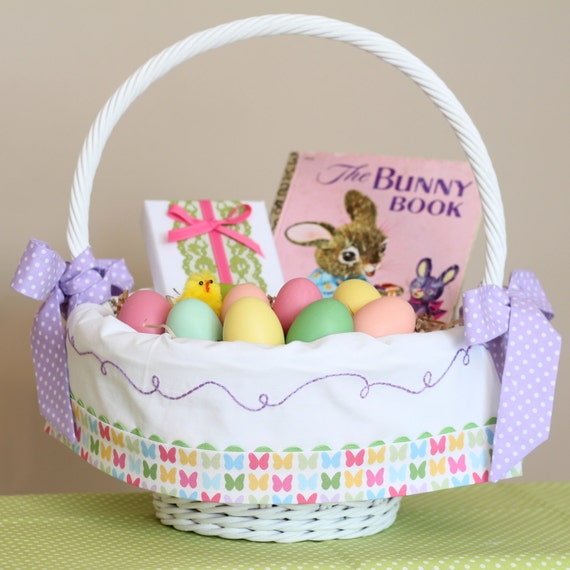 Girl Easter Basket Liner Fits Pottery Barn Kids By