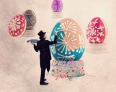 Easter Eggs, Eggs Easter, Egg Easter, Decorated Egg, Easter Decoration, modern kitchen, Food photography, Kitchen Decor, Kitchen Art,Kitchen