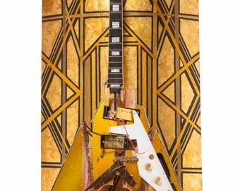 Eldorado Guitar Sculpture