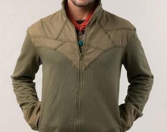 Cotton Jacket  For Men - burning man - men's clothing